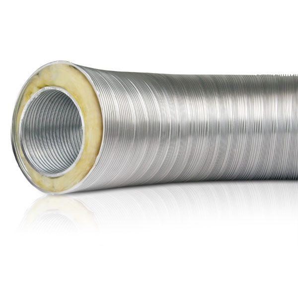 isolation de conduits de chemin/ées toutes les dimensions Cylindre en laine de roche avec aluminium tuyaux de po/êles
